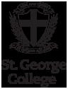 St George College logo mono