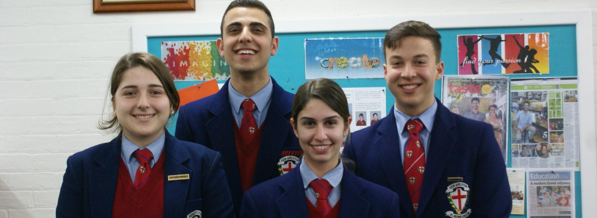 Student Leadership | St George College - Mile End, South Australia