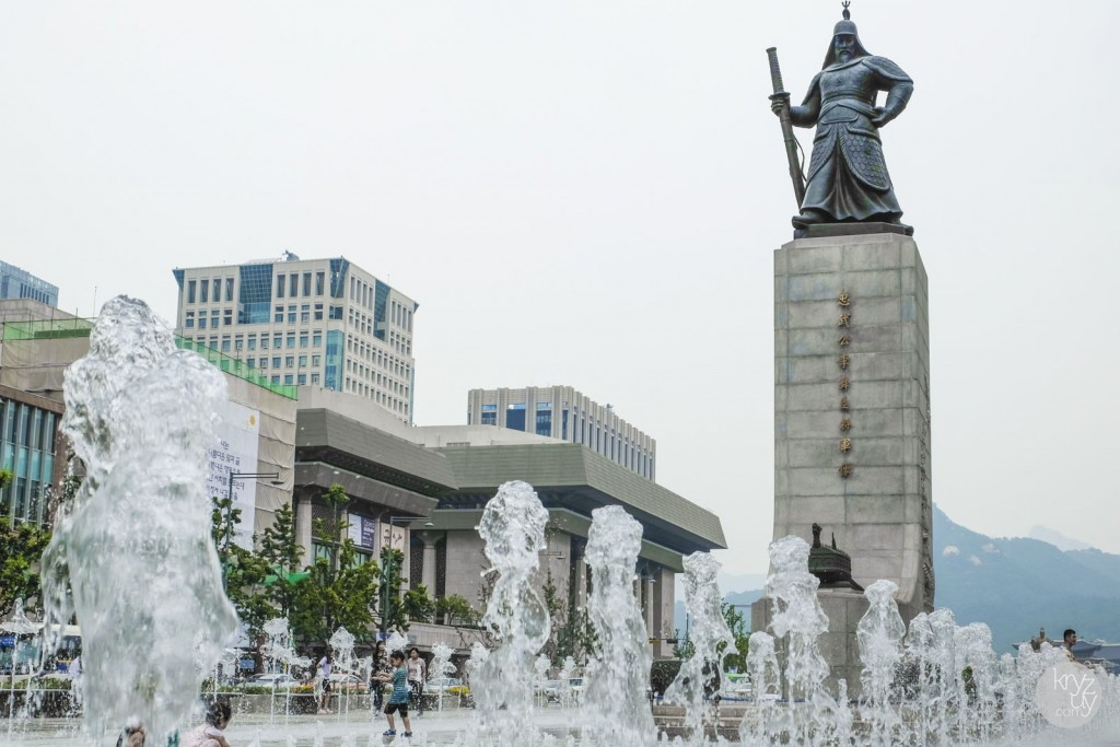 Water Statue