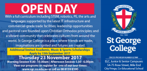 Open Day @ St George College